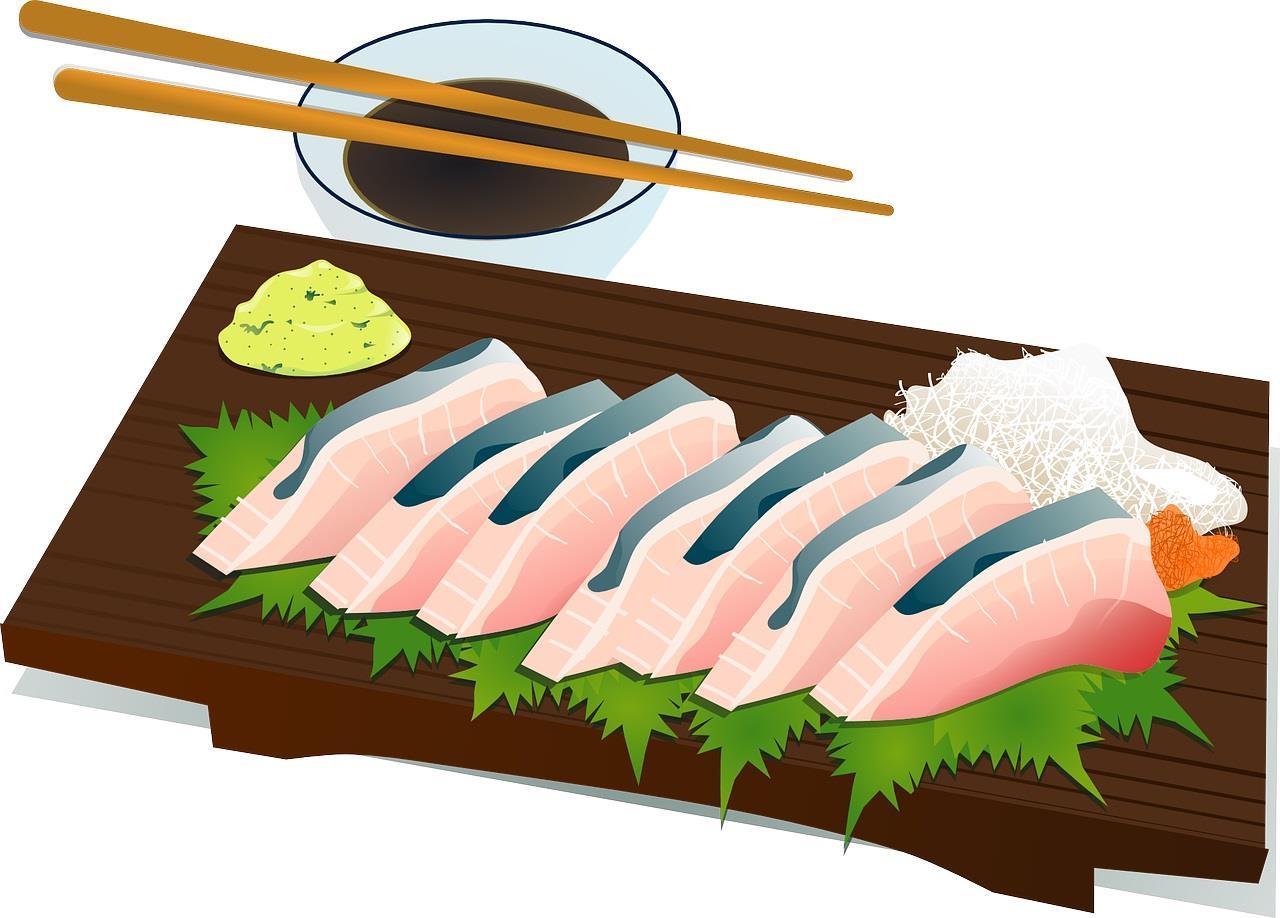 抗がん剤治療中でも生魚・寿司・刺身・野菜・果物は食べられることの解説、化学療法中の食事制限について説明