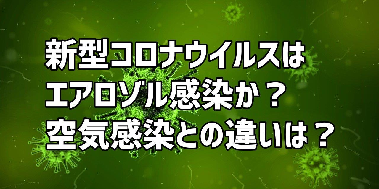 新型コロナウイルス感染症についての解説